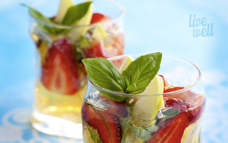 strawberry basil sangria