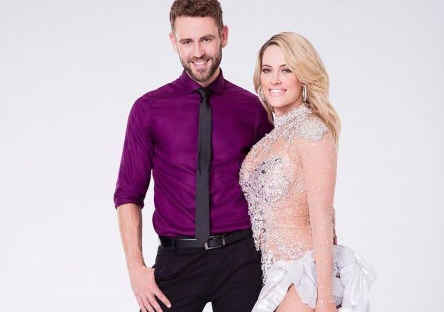 Dancing with the Stars contestant, Nick Viall and partner, Peta Murgatroyd